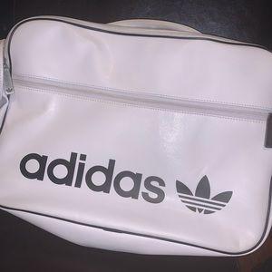 Adidas logo messenger bag